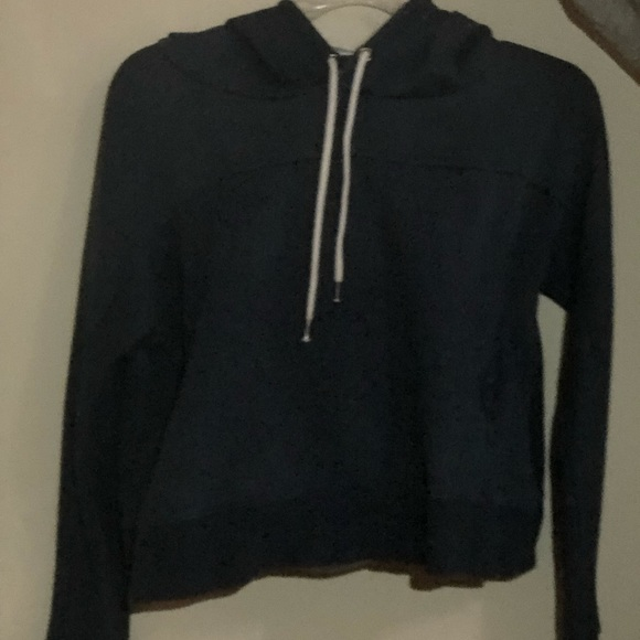 Urban Outfitters Sweaters - Navy hoodie